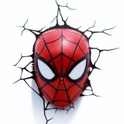 Luce da parete 3D Spider-Man