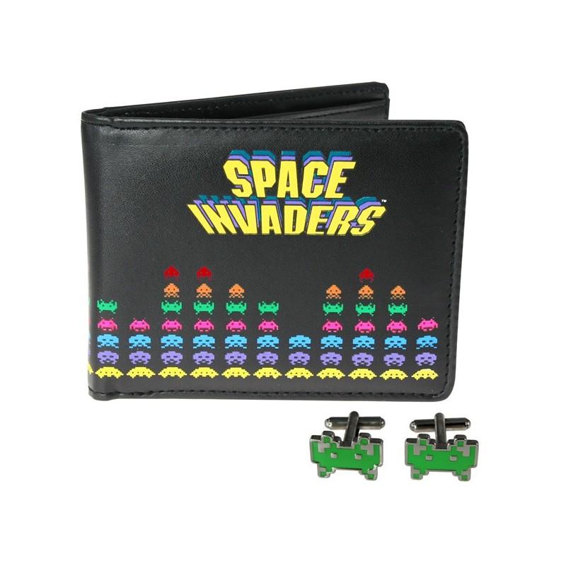 Set portafoglio e gemelli Space Invaders
