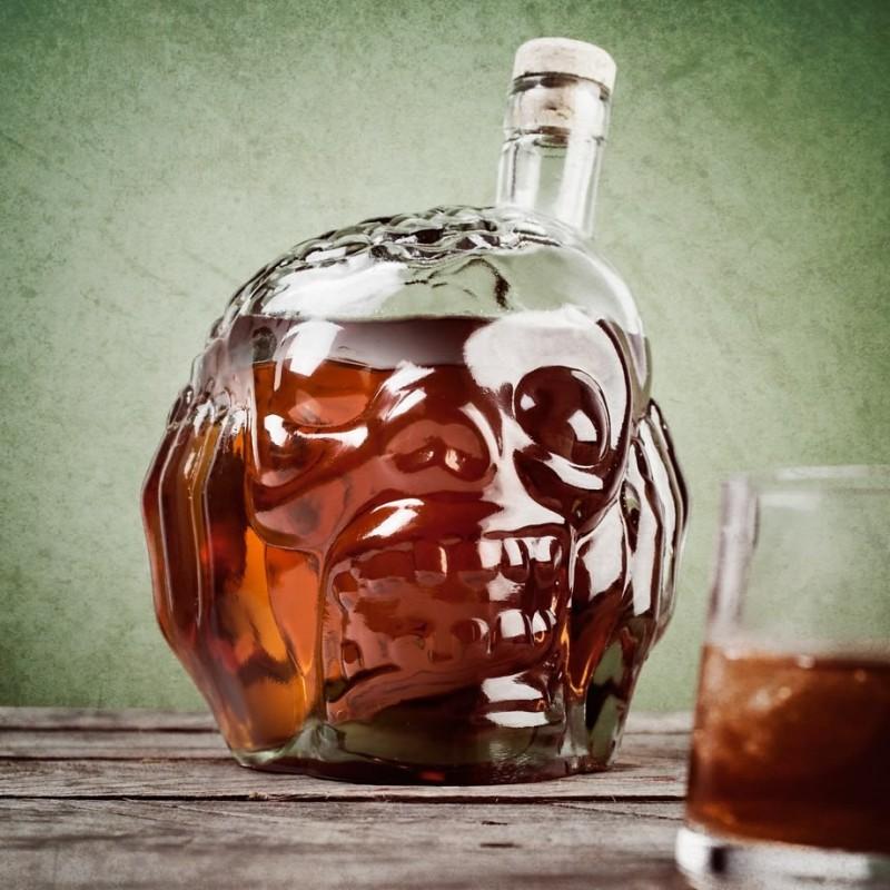 Bottiglia testa Zombie