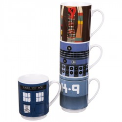 Torre di mug Doctor Who