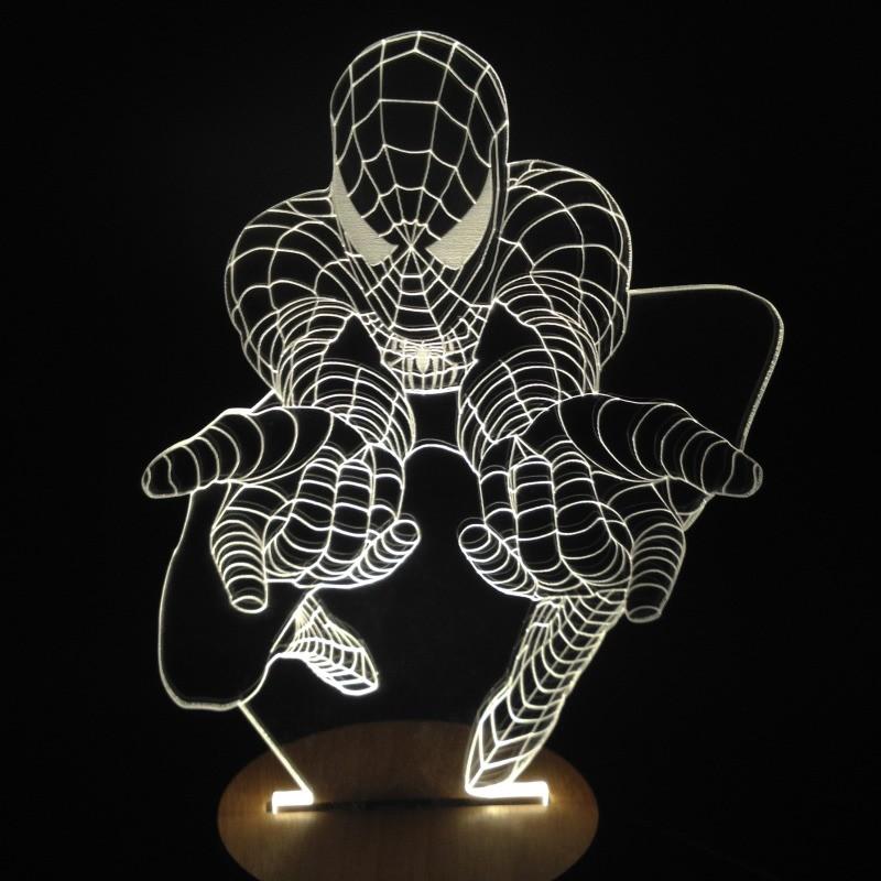 Light Art 3D - Spider-Man