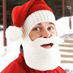 Cappello con Barba - Babbo Natale