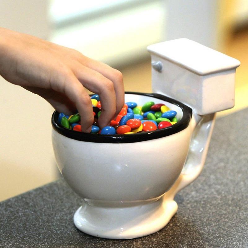 tazza a forma di wc dottorgadget