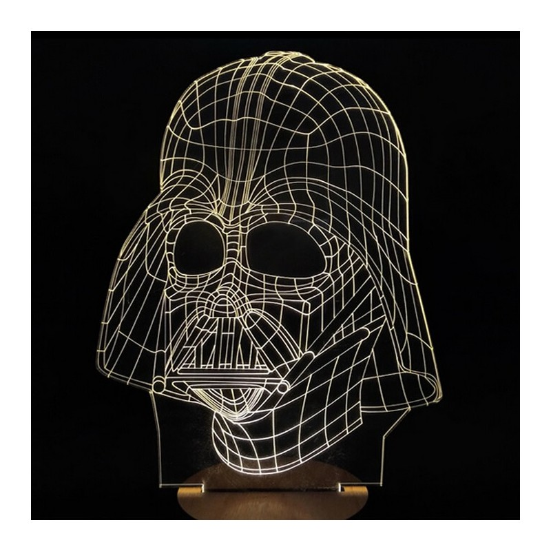 Light Art 3D – Darth Vader