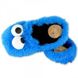 Pantofole Cookie Monster