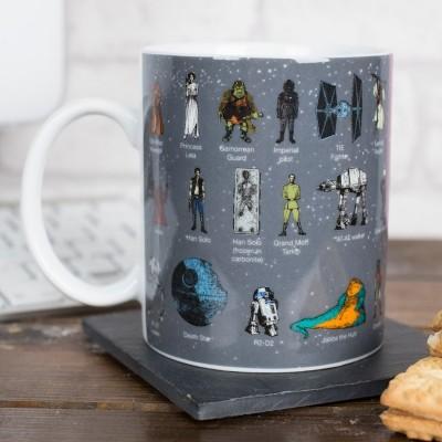Mug glossario Star Wars