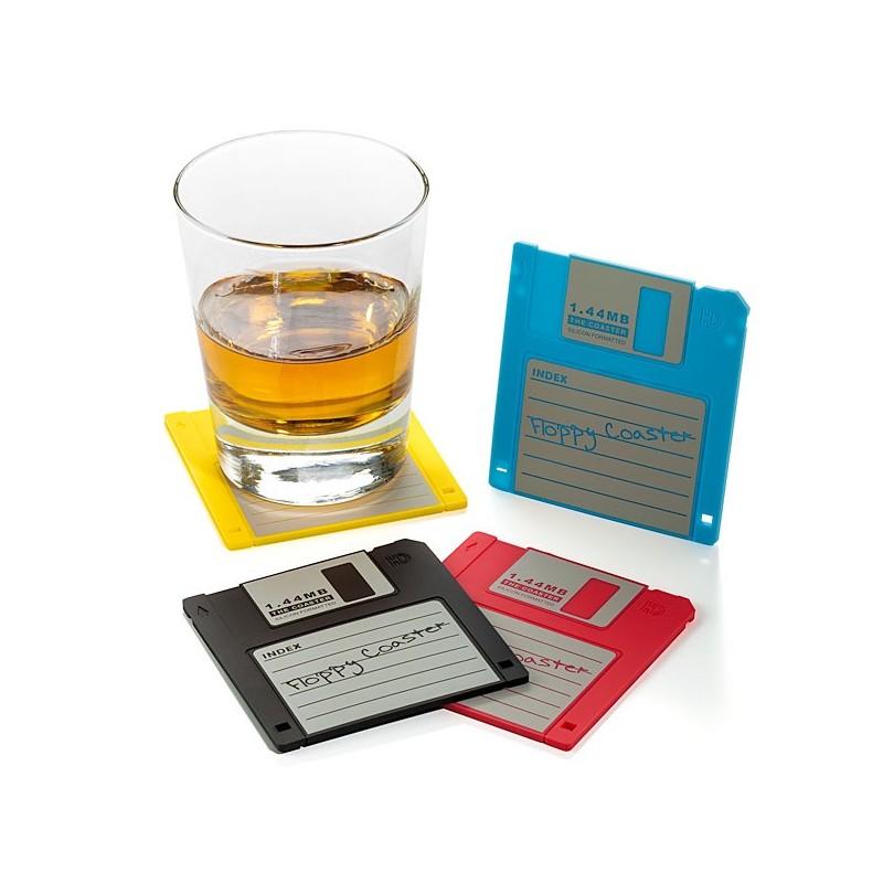 Sottobicchieri Floppy disk
