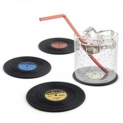 Sottobicchieri dischi in vinile