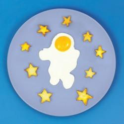 Stampo per uova – Astronauta