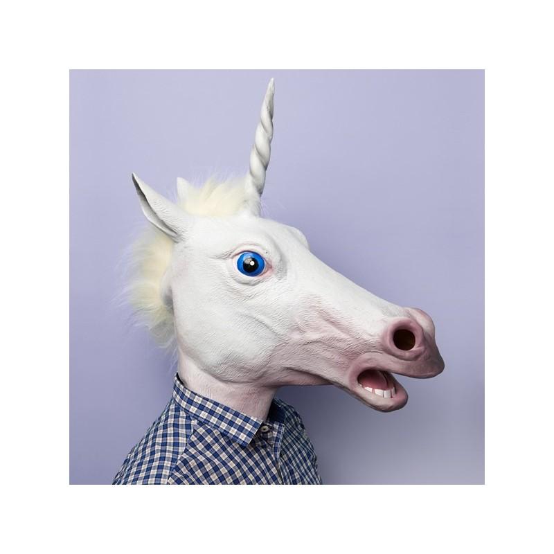 Maschera da unicorno