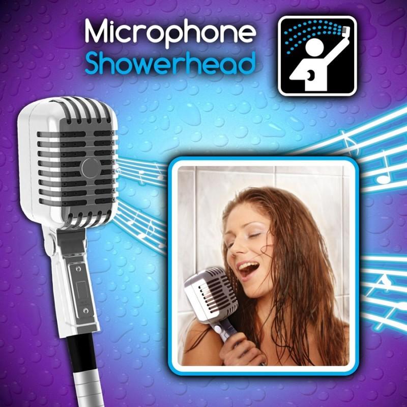 Microfono soffione da doccia