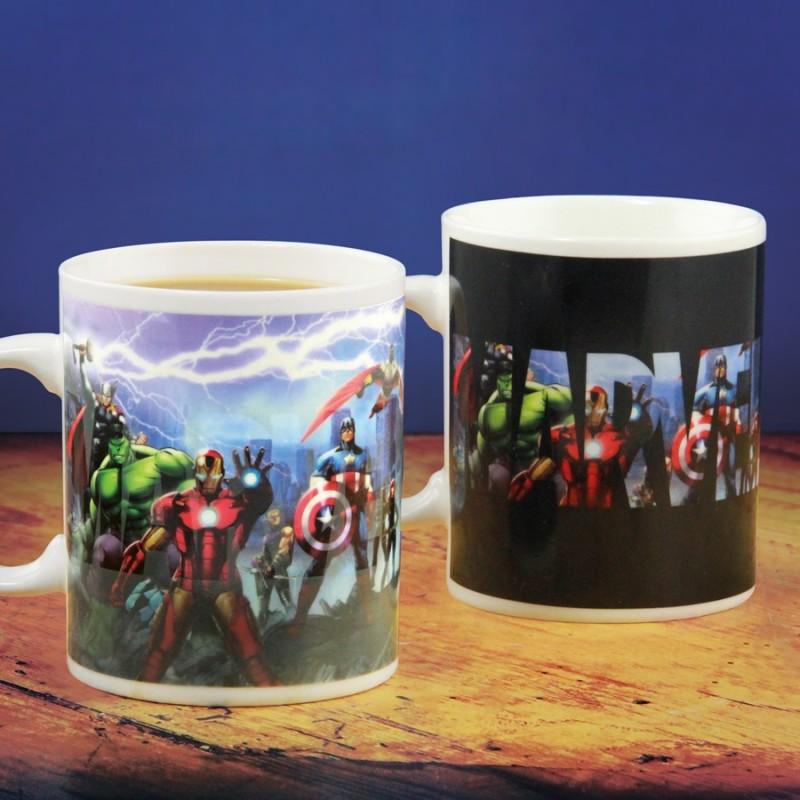 Mug termosensibile Marvel-Avengers