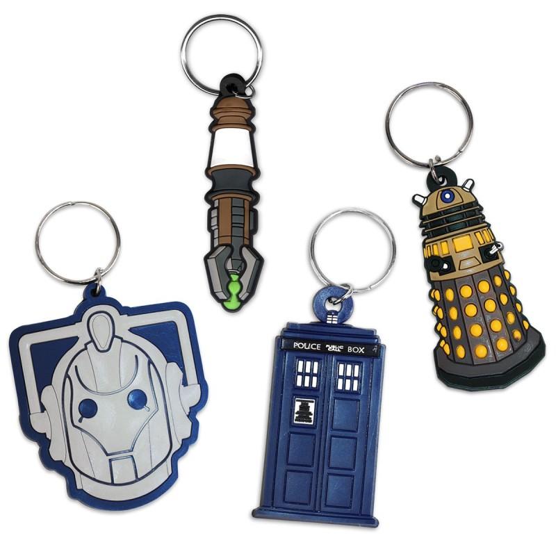 Set Portachiavi Doctor Who