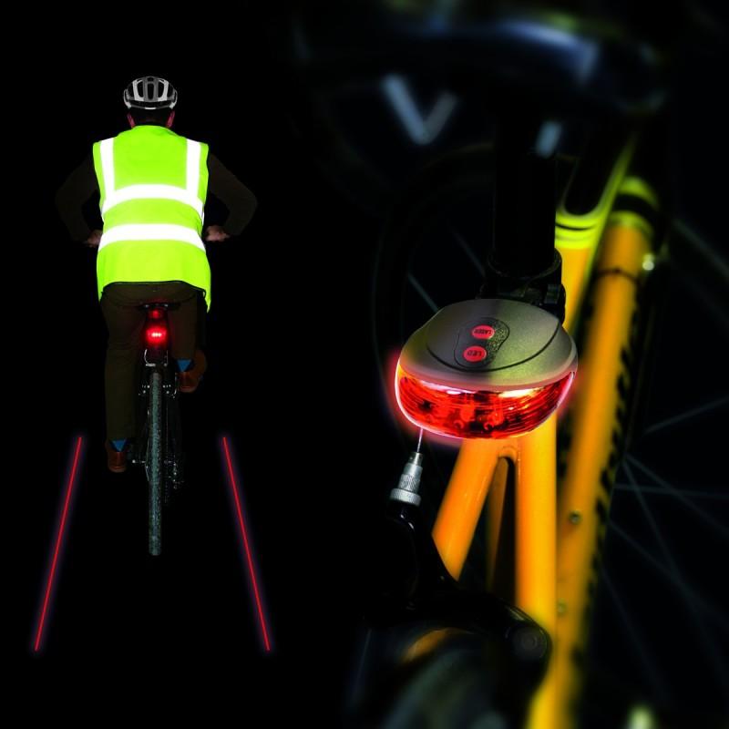 Strisce laser per bici