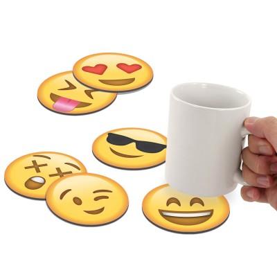 Sottobicchieri Emoticon