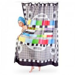 Tenda da doccia Test Card