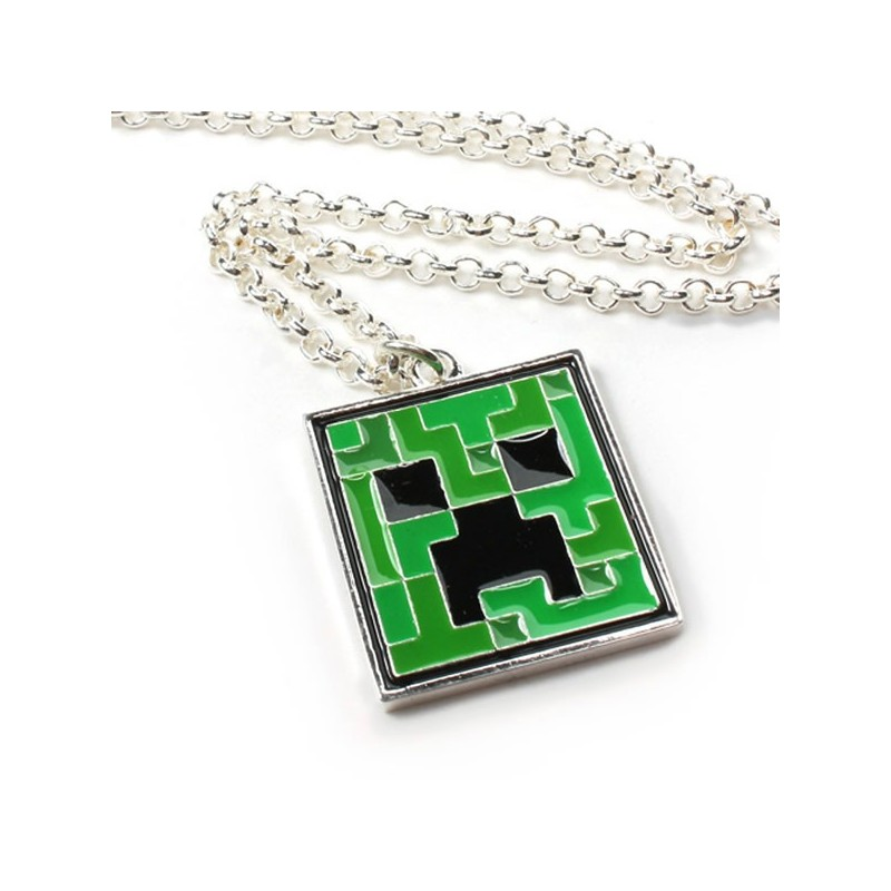 Collana Creeper Minecraft