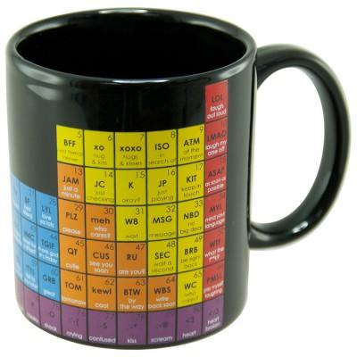 "Mug - Tavola periodica ""Text"""