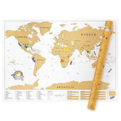 Mappa del mondo da grattare XL