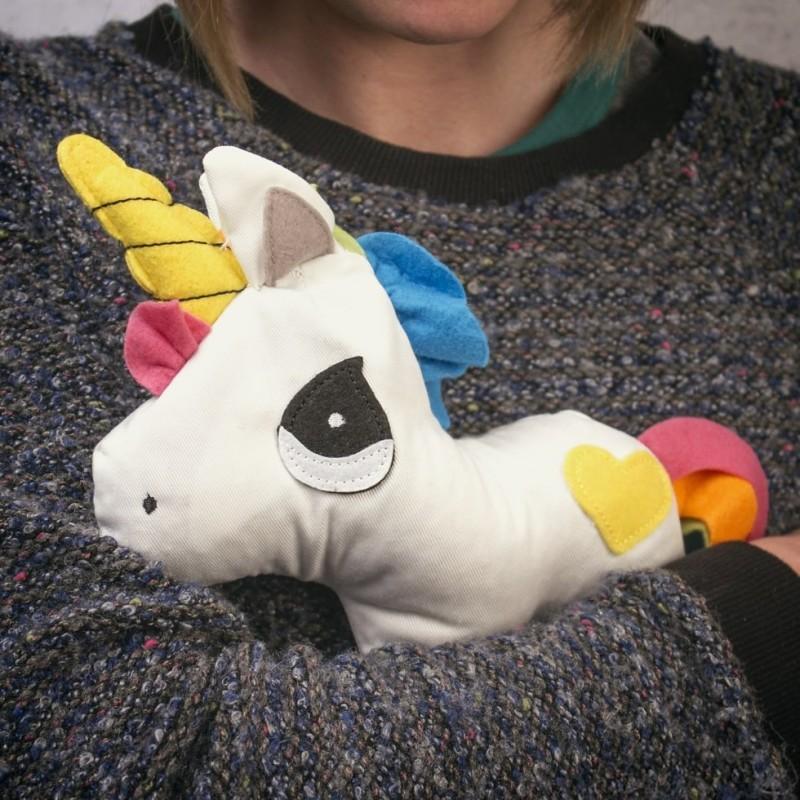 Unicorno riscaldabile