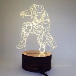 Light Art 3D – Iron Man