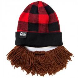 Cappello con barba Lumberjack