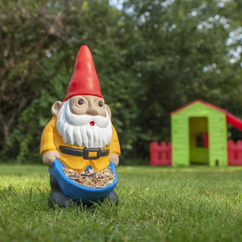 Nano da giardino mangiatoia dottorgadget - Pino nano da giardino ...