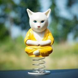 Gatto-Buddha da cruscotto