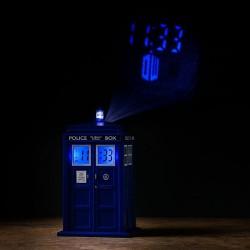 Sveglia TARDIS con proiettore