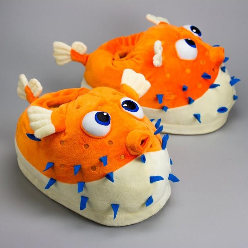 Pantofole Pesce Palla giganti