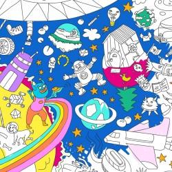 Poster da colorare – Cosmos