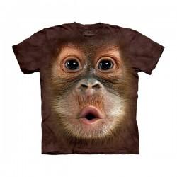 Maglietta Big Face Orango - Bambino