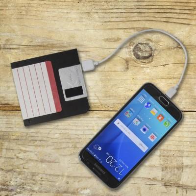 Batteria portatile Floppy Disk