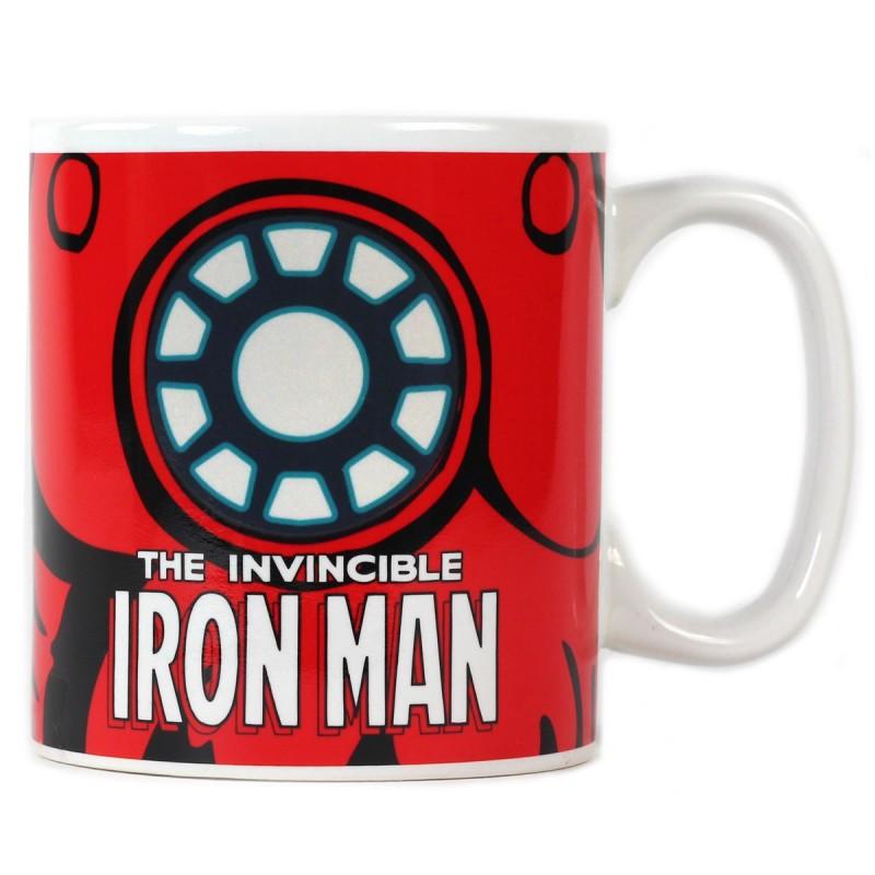 Mug termosensibile di Iron Man