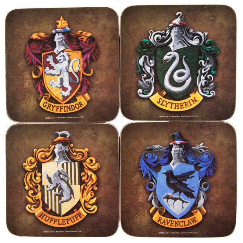 Sottobicchieri di Hogwarts