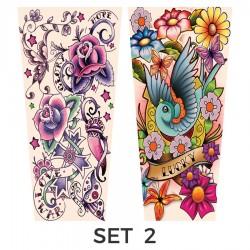 Maniche tatuate per lei