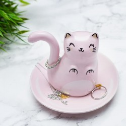 Gatto porta anelli