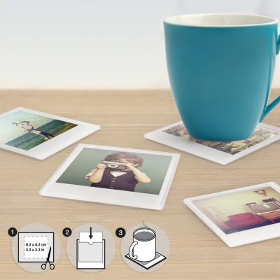 Sottobicchieri Polaroid