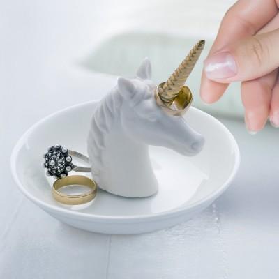 Unicorno porta anelli