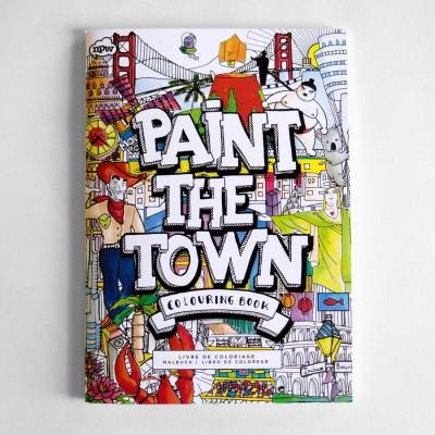 Libro da colorare Città del mondo