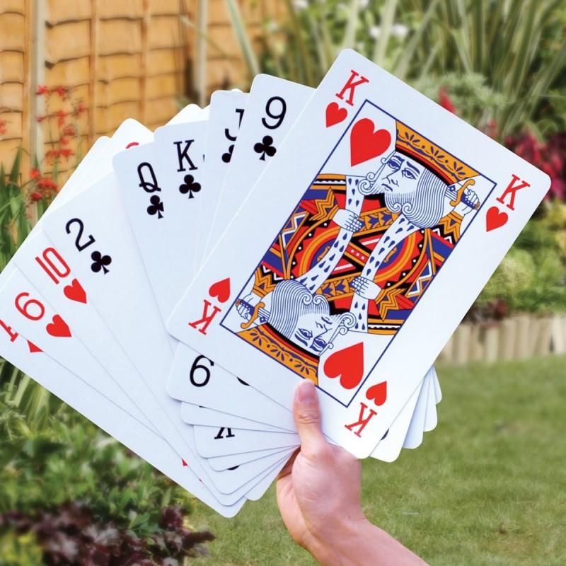 Carte da gioco giganti
