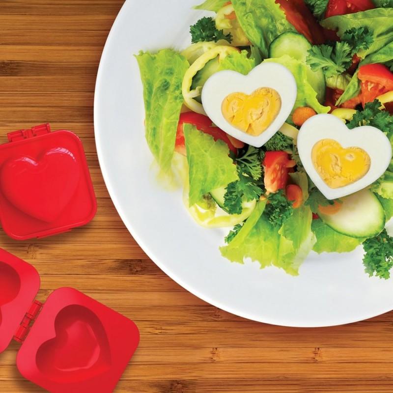 Stampo per uova sode - Cuore