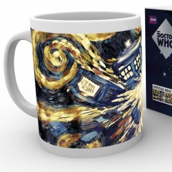 Mug Exploding TARDIS
