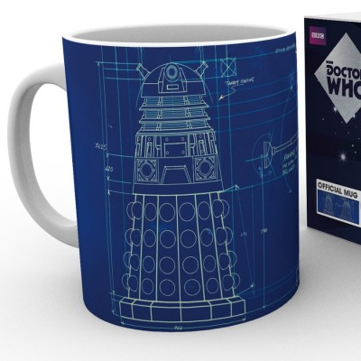 Mug Dalek Blueprint