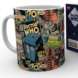 Mug Doctor Who Comic
