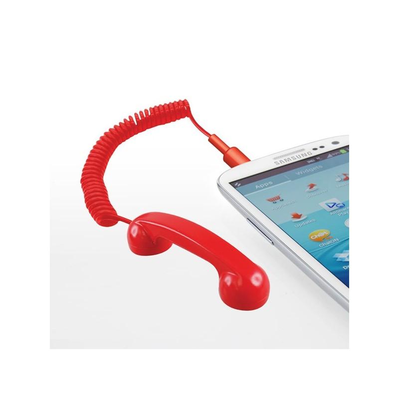 Mini cornetta per smartphone