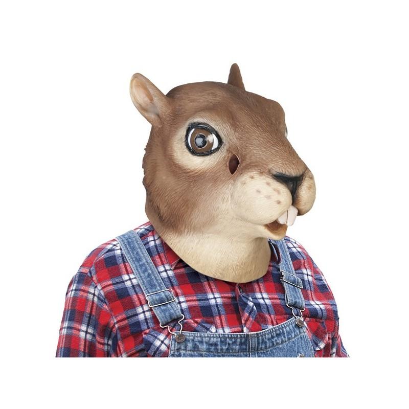 Maschera da scoiattolo