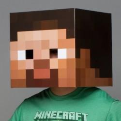 Maschera Steve Minecraft