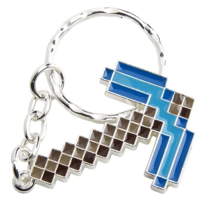 Portachiavi Piccone Minecraft (Diamond)