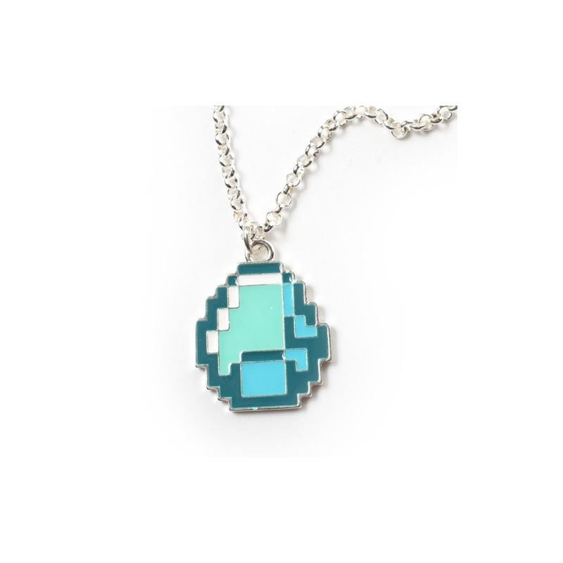 Collana con Diamante Minecraft